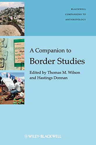 9781405198936: A Companion to Border Studies
