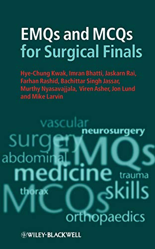 9781405199414: EMQs and MCQs for Surgical Finals