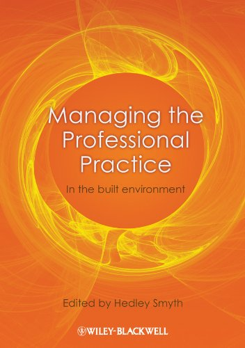 9781405199759: Managing the Professional Practice: In the Built Environment