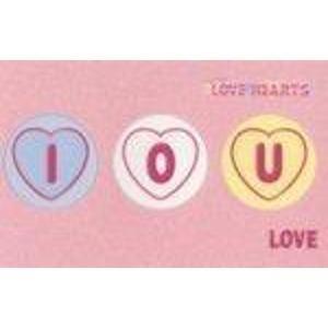 9781405200004: Love Hearts I.O.U.: Love