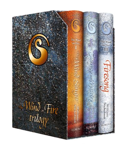 "9781405201964: The Wind on Fire Trilogy: ""The Wind Singer"", ""Slaves of the Mastery"", ""Firesong"""