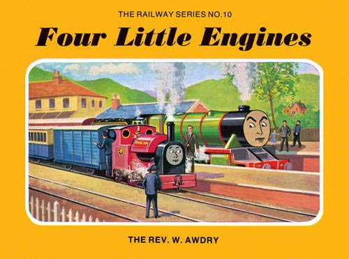 9781405203401: The Railway Series No. 10 : Four Little Engines (Classic Thomas the Tank Engine)