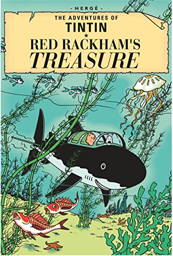 9781405206235: The Adventures of Tintin : Red Rackham's Treasure