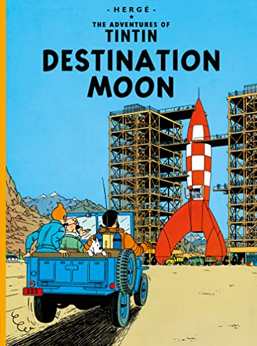 9781405206273: Destination Moon (The Adventures of Tintin)