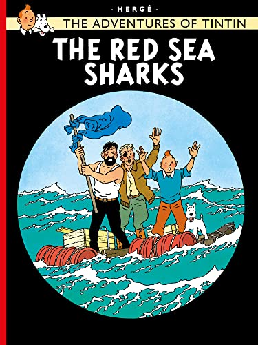 The Red Sea Sharks (Paperback): Herge