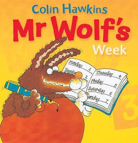 9781405206839: Mr.Wolf's Week (A Colin Hawkins mini-pop)