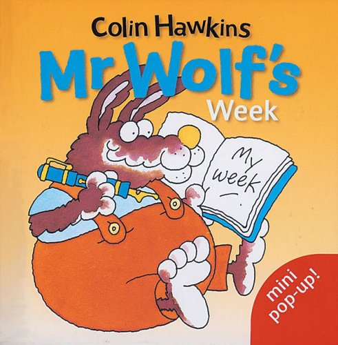 9781405207089: Mr.Wolf's Week: Mini Pop-up