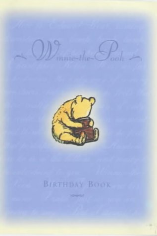 9781405207102: Winnie-the-Pooh Birthday Book (Winnie the Pooh)