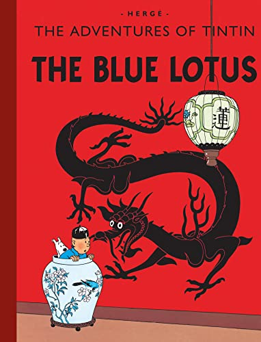 9781405208048: The Blue Lotus (Adventures of Tintin)