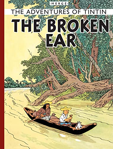 9781405208055: The Broken Ear (Adventures of Tintin (Hardcover))