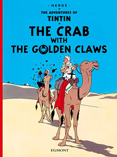 9781405208086: The Crag with the Golden Claws: The Adventures of Tintin (Hb)