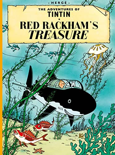 9781405208116: Red Rackham's Treasure (Adventures of Tintin)