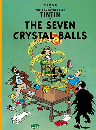 The Seven Crystal Balls (Hardback): Herge