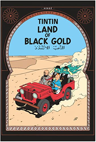 9781405208147: Tintin HC - Land Of Black Gold
