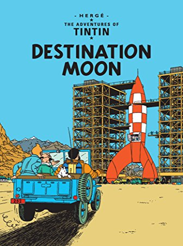 9781405208154: Destination Moon (The Adventures of Tintin)