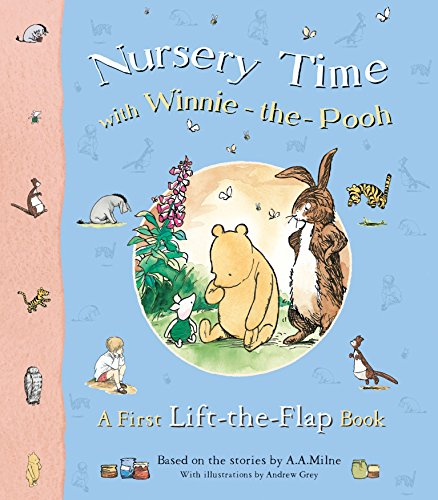 9781405212977: Nursery Time with Winnie-the-Pooh: A First Lift-the-Flap Book