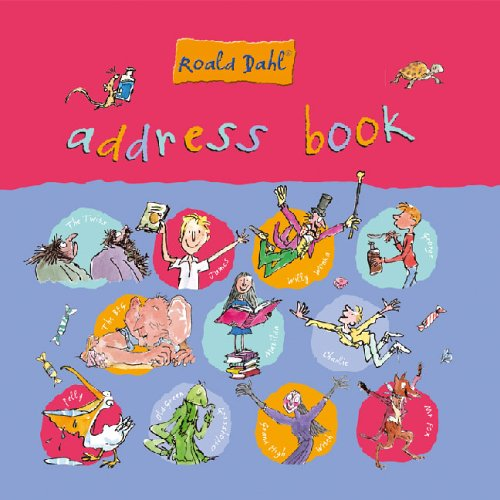 9781405213271: Roald Dahl Address Book