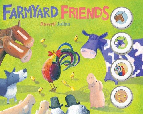 9781405216920: Farmyard Friends: 4 Sounds Board Book