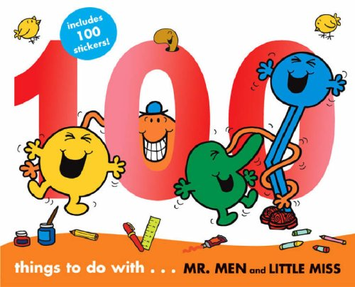 9781405216982: 100 Things to Do with Mr. Men (100 Things to Do & Stickers)