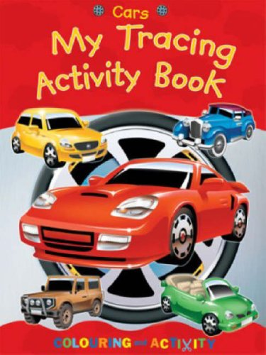 9781405217507: Cars: My Tracing Activity Book