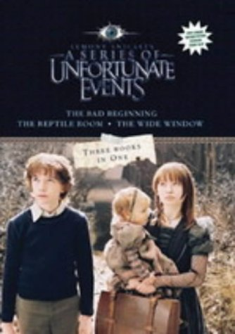 9781405217743: '''LEMONY SNICKET'S A SERIES OF UNFORTUNATE EVENTS'': ''THE BAD BEGINNING'', ''THE REPTILE ROOM'', ''THE WIDE WINDOW'' (SERIES OF UNFORTUNATE EVENTS)'