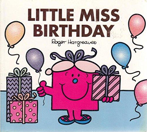 9781405223331: Little Miss Birthday