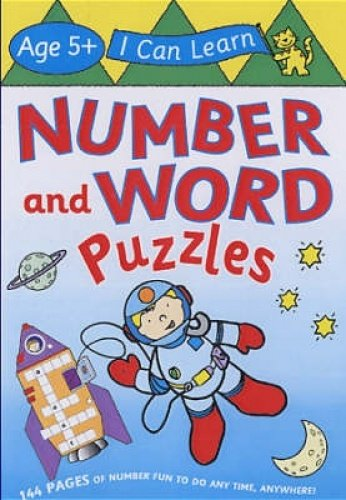 9781405223430: Number and Word Puzzles (I Can Learn)