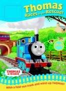9781405227209: Thomas Races to the Rescue! (Thomas the Tank Track Book)