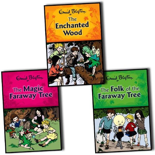 9781405228572: Enid Blyton Magic Faraway Tree Collection 3 Books Set Paperback Series (The M...