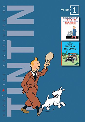 9781405228947: The Adventures of Tintin, vol. 1 : Tintin in the Land of the Soviets / Tintin in the Congo