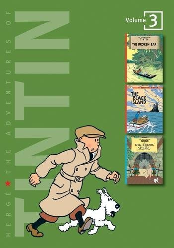 9781405228961: The Adventures of Tintin: Volume 3 (Compact Editions):