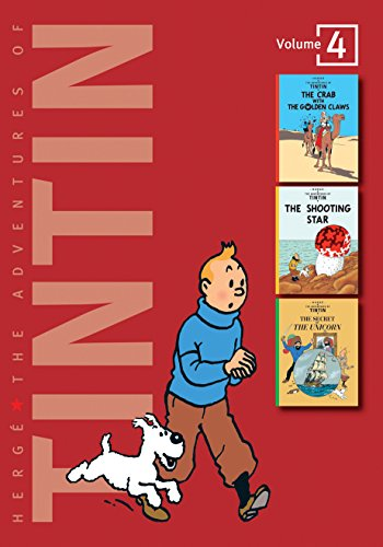 "9781405228978: The Adventures of Tintin: Volume 4 (Compact Editions): ""The Crab with the Golden Claws"", ""The Shooting Star"", ""The Secret of the Unicorn"" v. 4 (The Adventures of Tintin - Compact Editions)"