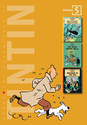 9781405228985: The Adventures of Tintin: Volume 5 (Compact Editions): Red Rackhams Treasure, The Seven Crystal Balls, Prisoners of the Sun v. 5 (The Adventures of Tintin - Compact Editions)
