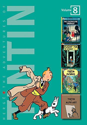 9781405229012: Adventures of Tintin (v. 8)