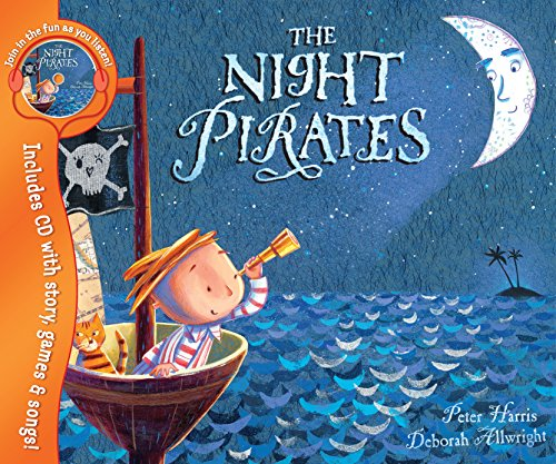 9781405230438: The Night Pirates: With Audio CD (Book & CD)