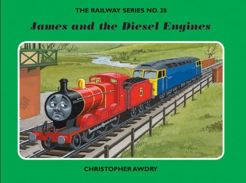 9781405230704: James and the Diesel Engines (Railway)