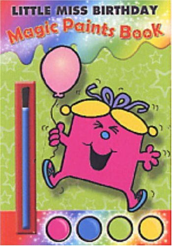 9781405230827: Little Miss Birthday (Magic Paints Book)