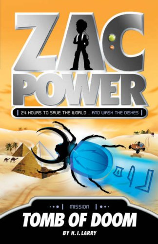 9781405230971: Tomb of Doom (Zac Power)
