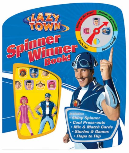 9781405232944: Spinner Winner Book! (LazyTown)
