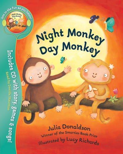9781405234375: Night Monkey, Day Monkey (Book & CD)
