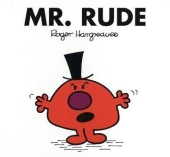 9781405235655: Mr. Rude (Mr. Men Classic Library)