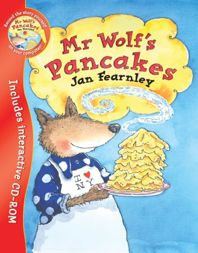 9781405238724: Mr Wolf's Pancakes (Book & CD)