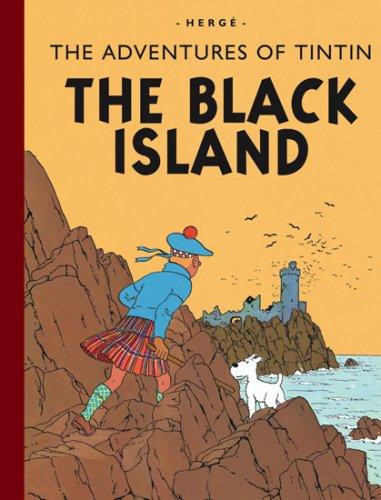 9781405240697: The Black Island (The Adventures of Tintin)