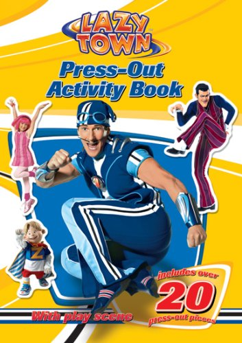 9781405241861: LazyTown: Press-out Activity Book