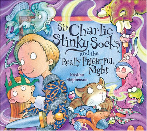 9781405242028: Sir Charlie Stinky Socks and the Really Frightful Night