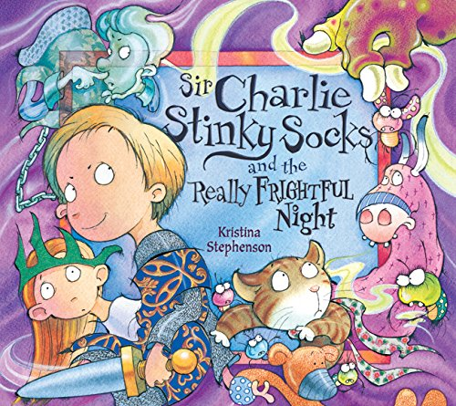 9781405242035: Sir Charlie Stinky Socks and the Really Frightful Night