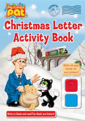 9781405242066: Postman Pat Christmas Letter Activity Book