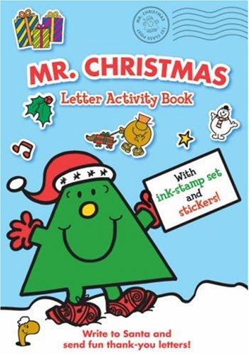 Mr. Christmas Letter Activity Book (Mr. Men)