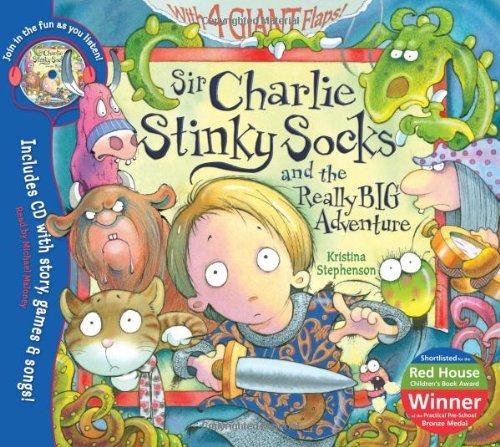 9781405243865: Sir Charlie Stinky Socks and the Really Big Adventure