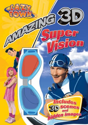 9781405244169: LazyTown Amazing 3D Super Vision